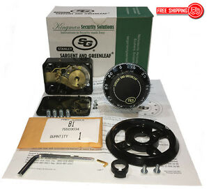 S g Sargent And Greenleaf 6730 100 Mechanical Combination Dial Lock Kit nib