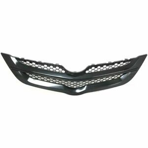 New To1200294 Textured Black Grille Assembly For Toyota Yaris Sedan 2007 2008