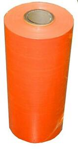Machine Pallet Wrap 50 Rolls Dark Orange Machine Film 20 5000 63 Gauge