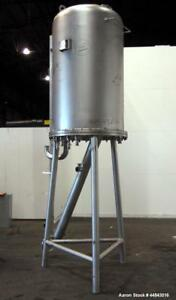 Used Japrotek Pressure Tank Approximately 275 Gallon 304 Stainless Steel Ver