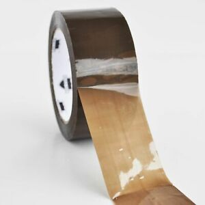 2 X 1 6 Mil X 55 Yards Brown tan Hotmelt Packing Tapes 36 Rolls Free Shipping