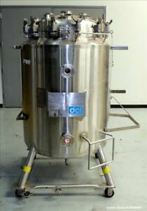 Used Dci Reactor 400 Liter 105 66 Gallon 316l Stainless Steel Vertical 30