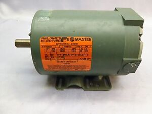 Reliance Electric Duty Master A c Motor P14g9243v