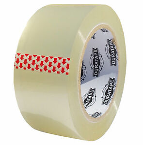 18 Rolls Clear Packing Tape 2 110y 2 3mil Ships Today