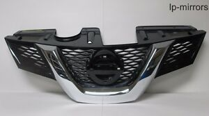 2014 2015 Nissan Rogue Grille W O Emblem Oem Pitted