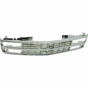 New Grille Assembly Textured Black For Chevrolet Silverado 1500 2007 2013