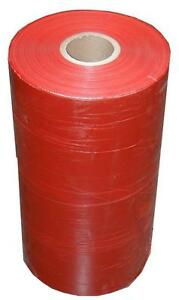 Machine Pallet 40 Rolls Wrap Stretch Dark Red Film 20 Inch X 5000 Feet X 80 Ga