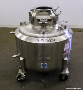 Used Dci Reactor 68 6 Gallons 260 Liter 316l Stainless Steel Vertical App