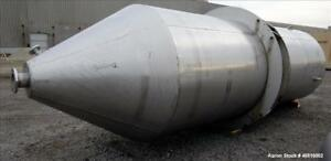 Used Stainless Steel Tank Approximately 4 000 Gallon 304 Stainless Steel Ver