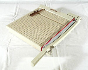 boston paper cutter Find great deals on ebay for boston paper cutter in printing and graphic art paper cutters and trimmers shop with confidence.