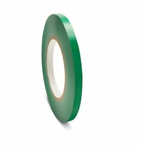 96 Rolls Green Poly Plastic Bag Sealing Tapes 3 8 X 180 Yards Free Shipping
