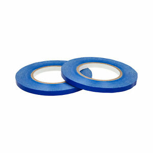 96 Rolls Blue Poly Plastic Bag Sealing Tapes 3 8 Inch X 180 Yards Free Shipping