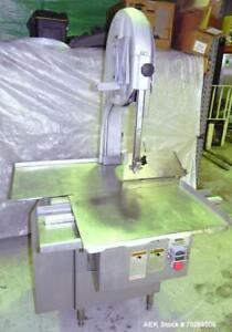 Used Biro Manufacturing Power Meat Cutter Model 3334ss 304 Stainless Steel