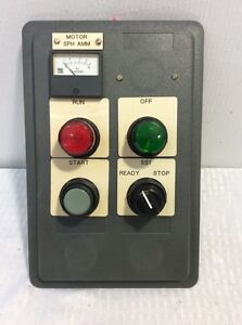 Cutler hammer 10250t 91000t Indicating Lights Start And Ready stop Switch