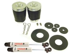 Ridetech 64 72 Chevelle Gm A Body Coolride Rear System Air Spring Shock 11224010