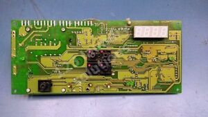 Washer Control Board For Continental Girbau P n 327601 Used