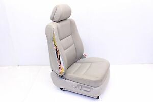 Acura Rl Front Passenger Right Power Heated Leather Bucket Seat Taupe Oem 07 08