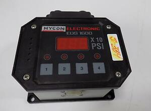 Hycon Electronic Eds 1600 Pressure Controller Eds 1693 p c 450 000