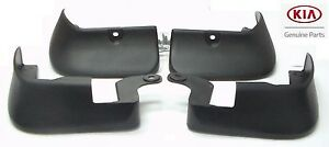 2010 2013 Kia Forte Koup Splash Guards Mud Flaps Full 4pc Set Front Rear Oem