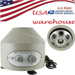 Useful 110 220v Electric Centrifuge Machine 4000rpm Lab Medical Practice Us Ship