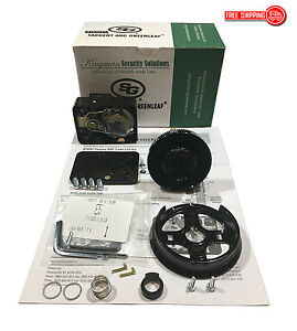 S g Sargent And Greenleaf 8550 100 Mechanical Combination Dial Lock Kit nib