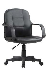 Viva Office Ergonomic Mid Back Office Chair Bonded Leather Computer Task Chair