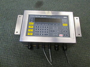 Weigh tronix Stainless Steel Digital Scale Indicator Wi 127 240v Only Used
