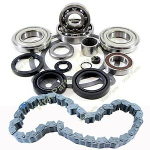 Hummer H3 Transfer Case Bearing Rebuild Bearing And Chain Kit Bw 4493 2007 On