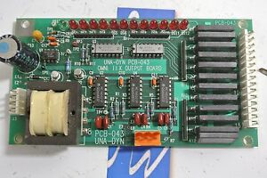 Universal Dynamics Pcb 043 Printed Circuit Board Used