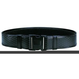 Bianchi X large 46 52 Waist Black 7950 Basketweave Accumold Elite Duty Belt