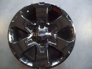 Factory Ford F150 Pickup Wheels Rims 10 11 12 2013 2014 18 Black Set Of 4 3832