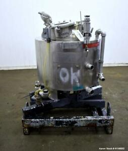 Used Eastman Kodak Reactor 70 Gallon 316l Stainless Steel Vertical Approxim
