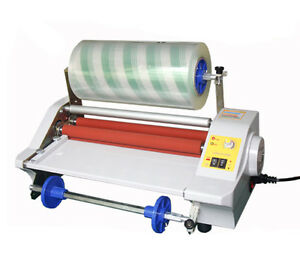 Four Rollers Hot Roll Laminating Machine Fm360j Photo Film Laminator 110v