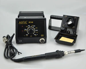 Aoyue 936 Soldering Station Soldering Iron Repair Rework Station 220v