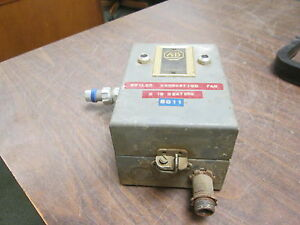 Allen bradley Enclosed Size 00 Starter 709tad 120v Coil Used