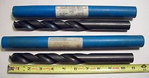 High Speed Steel Drill Bits straight Shank oil Hole Style 7 8