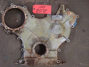 Ford 2000 3000 Tractor Used Engine Timing Cover Ref Part D9nn6059ba