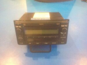 03 07 Toyota Matrix Rav4 Celica 4runner Radio Cd Player 86120 52530 11808 Bf2