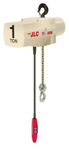 Cmco 1 Ton Coffing Jlcet2016 Electric Chain Hoist With Push Trolley