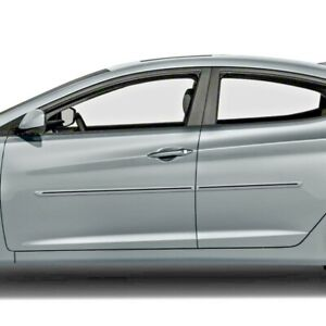 Painted Body Side Moldings With Black Trim Insert For Hyundai Elantra 2007 2020