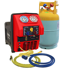 Mastercool 69391 Spark free R1234yf Contaminated Portable A c Recovery Unit