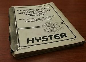 Hyster Motor Engine Control Forklift Manuals Collection 897409