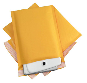 1000 0 6x10 Kraft Bubble Mailers Self Seal Padded Shipping Envelopes 6 x10