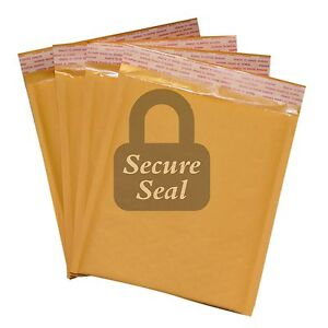 250 dvd 7 5x10 Kraft Bubble Mailers Self Seal Padded Envelopes 7 5 X 10 Dvd