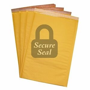 150 6 12 5x19 Kraft Bubble Mailers Self Seal Padded Envelopes 12 5 X 19