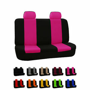 Car Seat Covers For Rear Seat Luxury Sporty For Car Suv Minivan