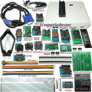 Universal Rt809h Emmc nand Flash Programmer 24 Adapters With Cabels Emmc nand