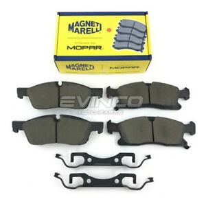 2011 2015 Jeep Grand Cherokee Dodge Durango Front Brake Pad Kit Oem V1012369aa