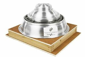 Shielded Enclosure Exhaust Fan Assembly Roof Ventilator