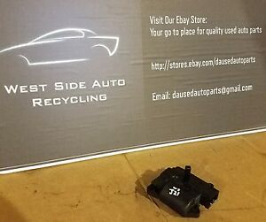 2001 Lincoln Ls Heater Actuator Motor Climate Control Yw4h 19e616 ea j21